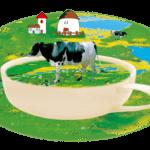 крава, рисунка